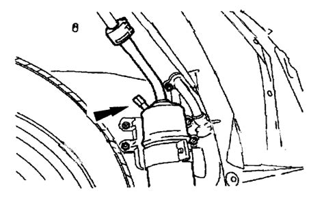 where is the low pressure port for a c located in a 2004 ford focus