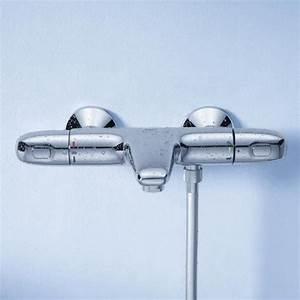 Mitigeur Thermostatique Douche Grohe : grohe grohtherm 1000 mitigeur thermostatique bain douche 1 ~ Melissatoandfro.com Idées de Décoration