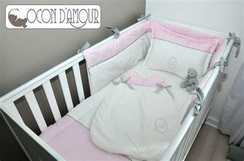 linge de marque pour bebe ensemble linge de lit b 233 b 233 5 pi 233 ces linge de lit enfants par cocon damour