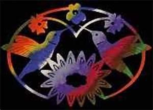 Hummingbird #1 Trivet Scroll Saw Pattern Scrollsaw
