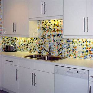 add a backsplash to your kitchen remodel dominica vibes news With kitchen colors with white cabinets with movie reel wall art