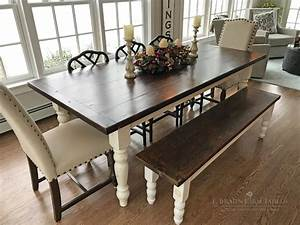 Hand, Made, Farmhouse, Table, Authentic, Reclaimed, Barn, Wood, By, E, Braun, Farm, Tables, And, Furniture