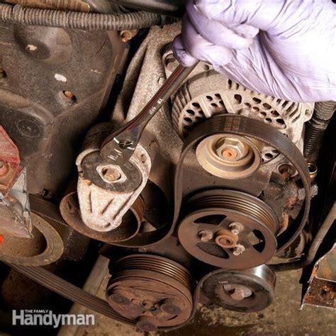 changing  car serpentine belt diy car serpentine belt