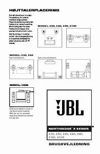 Jbl E 60 User Guide    Operation Manual  U2014 View Online Or Download Repair Manual