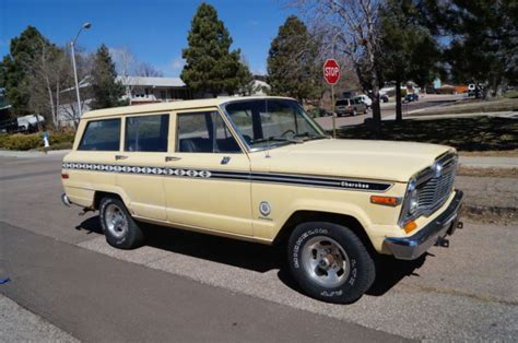 jeep chief 1979 classic 1979 jeep cherokee chief wagoneer fsj 360 4 speed