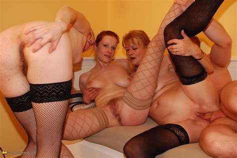 One Dude Fucking Three Mature Ladies