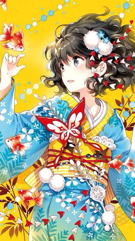 618 Best Anime Girls Kimonotraditional Clothing Images