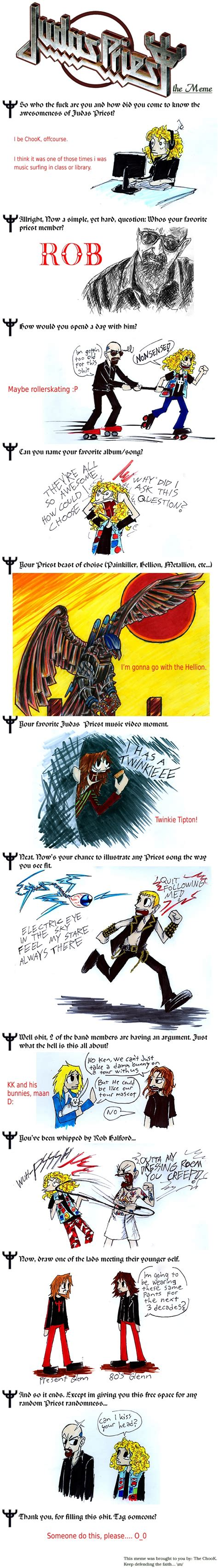 Judas Priest Meme - judas priest meme by the chook on deviantart