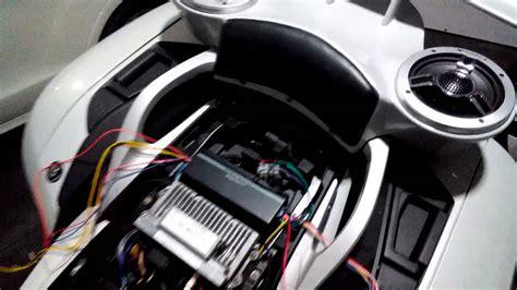 Bmw K1600gt Sound System