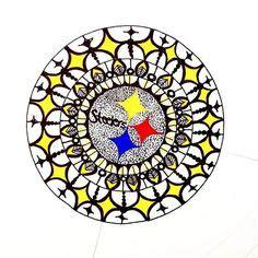 draw steelers logo steelers stencil steelers
