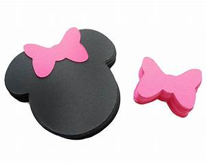 Best Photos of Minnie Mouse Cut Out Template - Minnie ...