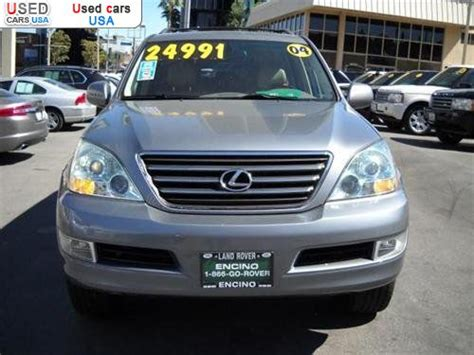 For Sale 2004 Passenger Car Lexus Gx 470 470 Base, Encino