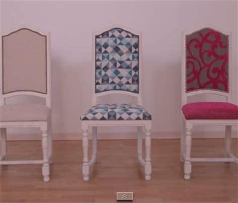 diy recouvrir une chaise pop couture