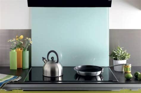 crédence verre trempé cuisine crédence de cuisine en verre securit