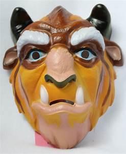 Vintage Walt Disney Beast Mask Beauty and the Beast ...
