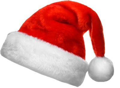 santa hat transparent background png