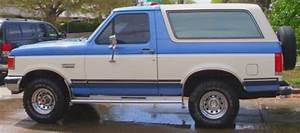 Sell Used 1989 Ford Bronco Xlt Elx 1000 Full Size Regatta