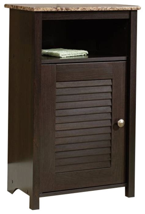 Sauder File Cabinet In Cinnamon Cherry by Sauder Peppercorn Floor Cabinet In Cinnamon Cherry