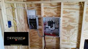 Off Grid Solar Power And Grid Power Wiring A Tiny House    Playhouse Project Part 1 With Kvusmc