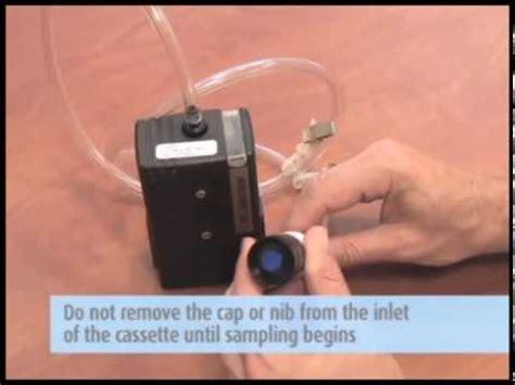 asbestos personal sampling niosh  youtube
