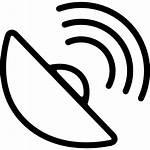 Signal Icon Symbol Phone Antenna Radar Dish