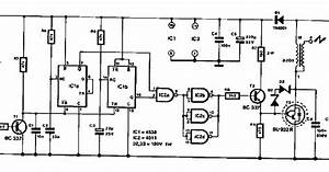Electronic Ignition Circuit Diagram