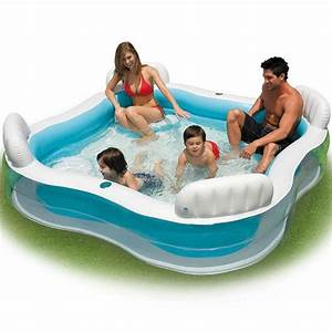 Piscine Gonflable Pas Cher Gifi : intex piscine gonflable avec 4 si ges achat vente ~ Dailycaller-alerts.com Idées de Décoration