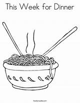 Noodles Coloring Pages Dinner Noodle Colouring Food Week Twisty Pasta Spaghetti Printable Outline Sheets Plate Macaroni Twistynoodle Taste Rajzok Fork sketch template