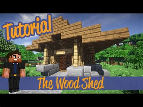 minecraft shed minecraft tutorials small wood shed shack addon ps4 xbox