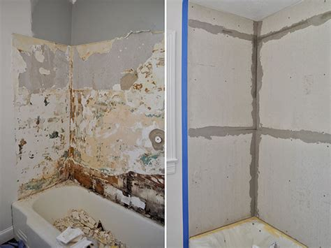 diy tile shower diy budget bathroom renovation reveal interior design