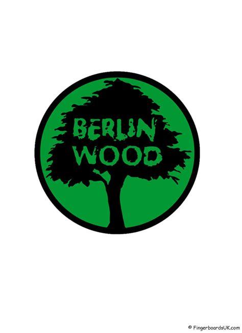 berlinwood sticker green fingerboards uk shop