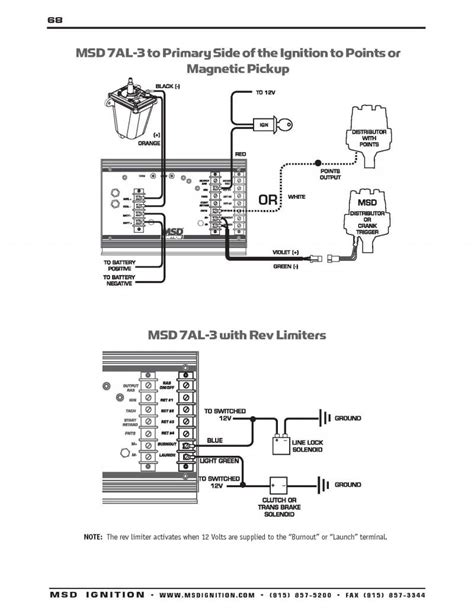 Msd 7al 3 Wiring by Limited Msd Ignition Wiring Diagram 7al3 Msd 7al 3 Wiring