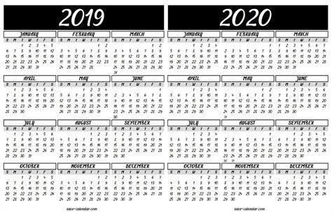 calendar printable template ca