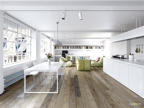 Loft Ideas by These Lofts Are Up In The Clouds With Their White Designs