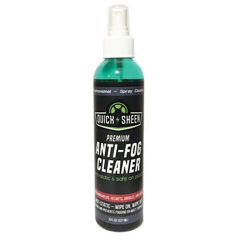 anti fog spray anti fog spray cleaner sheen metal sealer