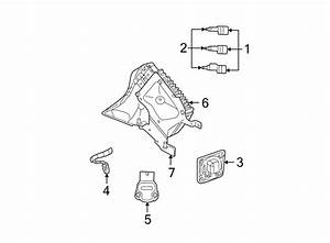 Chrysler Sebring Camshaft Position Sensor  Liter  Sedan