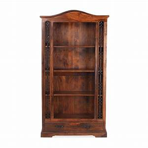nepal solid sheesham indian furniture large bookcase with With home furniture online nepal