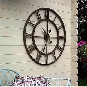 Outdoor garden clocks sale garden clocks wall clocks for Outdoor wall clocks sale