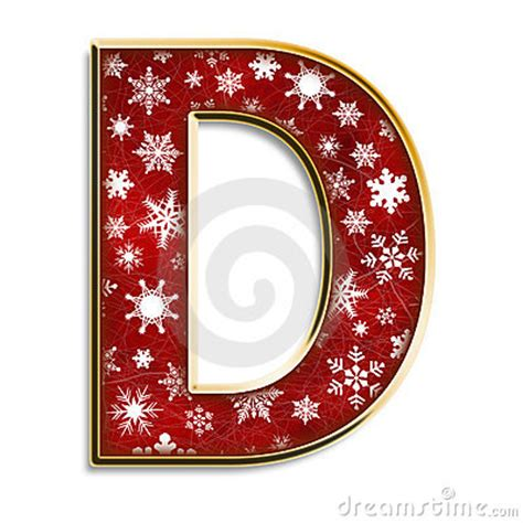 christmas letter   red royalty  stock