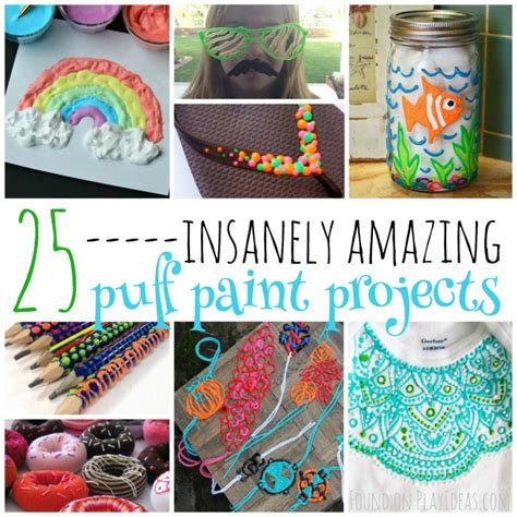 insanely amazing puff paint projects  kids