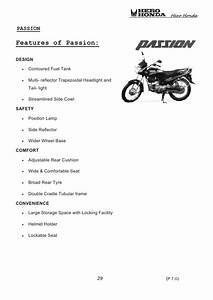 Hero Honda Passion Plus Electrical Wiring Diagram