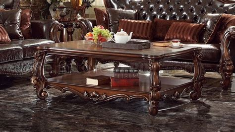versailles  coffee table  cherry oak  acme woptions