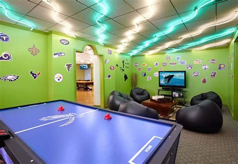 Game Room Design-game Room Ideas Gallery