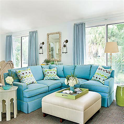 florida room decor blue rooms tour a florida home with enduring charm