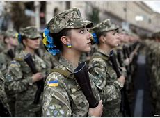 War has a female face news about social life UNIAN
