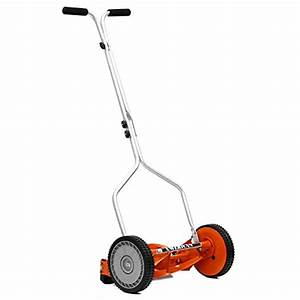 Manual Push Mower  Amazon Com