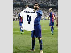 Memes de comemoração de Messi ironizam CR7 e Sergio Ramos
