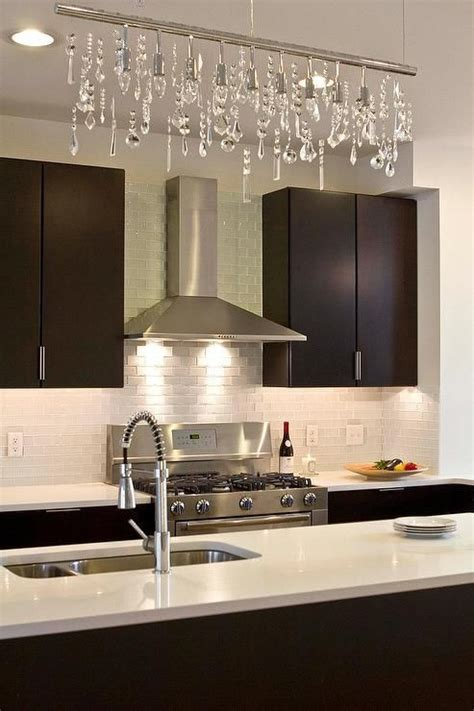 modern kitchen countertops and backsplash modern kitchen boasts espresso flat front cabinets paired with white quartz countertops and a