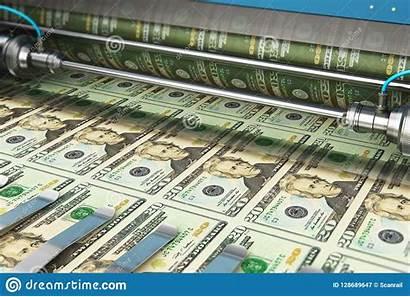 Money Printing Usd Dollar Banknotes Paper Amerikaanse