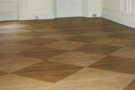 Floors : Stained Hard Wood Floors